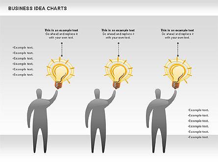 Business Idea Diagram, Slide 5, 01115, Business Models — PoweredTemplate.com