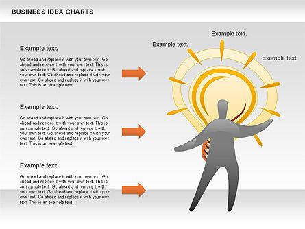 Business Idea Diagram, Slide 6, 01115, Business Models — PoweredTemplate.com