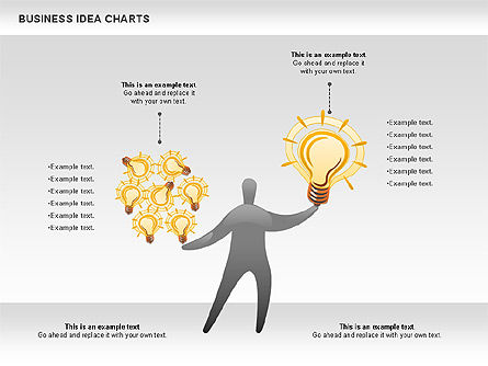 Business Idea Diagram, Slide 7, 01115, Business Models — PoweredTemplate.com