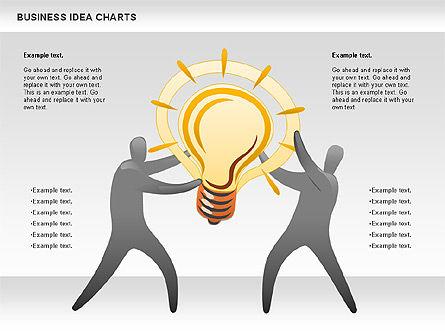 Business Idea Diagram, Slide 8, 01115, Business Models — PoweredTemplate.com