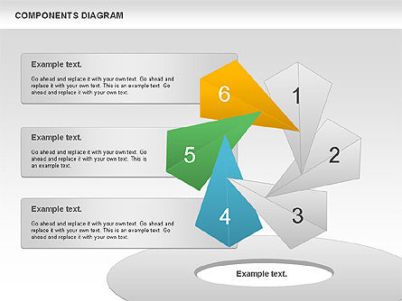 Project Presentation Diagram, Slide 11, 01117, Business Models — PoweredTemplate.com