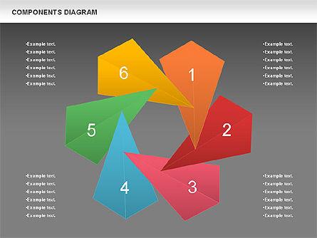 Project Presentation Diagram, Slide 12, 01117, Business Models — PoweredTemplate.com