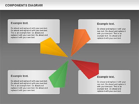 Project Presentation Diagram, Slide 13, 01117, Business Models — PoweredTemplate.com