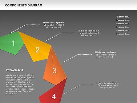 Project Presentation Diagram, Slide 14, 01117, Business Models — PoweredTemplate.com