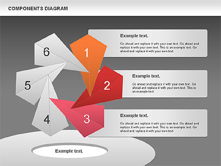 Project Presentation Diagram, Slide 15, 01117, Business Models — PoweredTemplate.com
