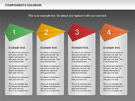 Project Presentation Diagram, Slide 16, 01117, Business Models — PoweredTemplate.com
