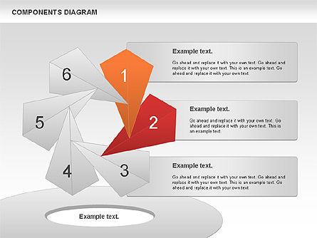 Project Presentation Diagram, Slide 5, 01117, Business Models — PoweredTemplate.com