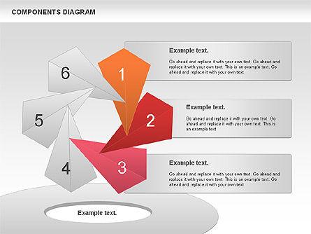 Project Presentation Diagram, Slide 6, 01117, Business Models — PoweredTemplate.com
