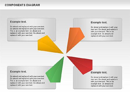 Project Presentation Diagram, Slide 9, 01117, Business Models — PoweredTemplate.com
