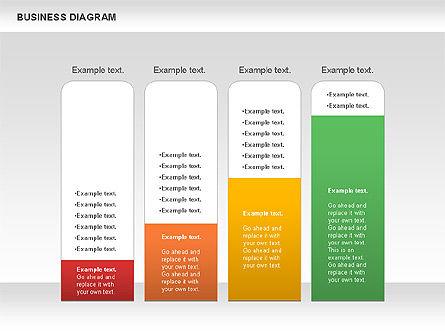 Marketing Report Diagram, Slide 2, 01118, Business Models — PoweredTemplate.com