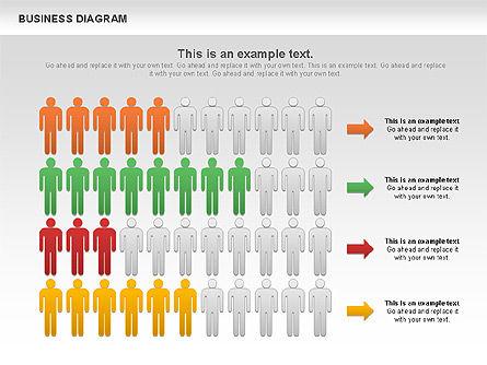 Marketing Report Diagram, Slide 3, 01118, Business Models — PoweredTemplate.com