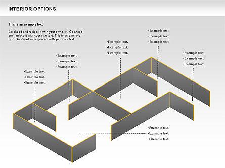 Interior Options Diagram, Slide 10, 01123, Business Models — PoweredTemplate.com