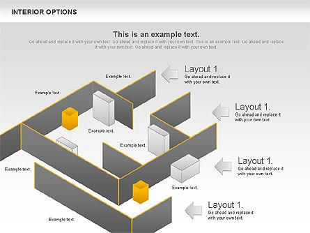 Interior Options Diagram, Slide 11, 01123, Business Models — PoweredTemplate.com