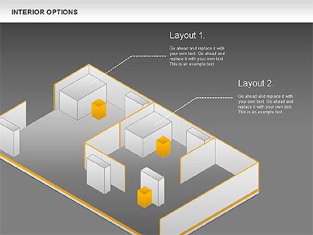 Interior Options Diagram, Slide 13, 01123, Business Models — PoweredTemplate.com
