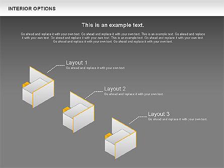 Interior Options Diagram, Slide 15, 01123, Business Models — PoweredTemplate.com