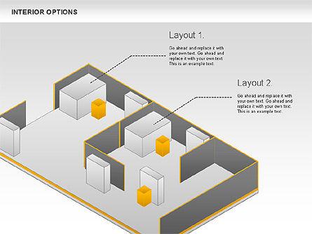 Interior Options Diagram, Slide 2, 01123, Business Models — PoweredTemplate.com