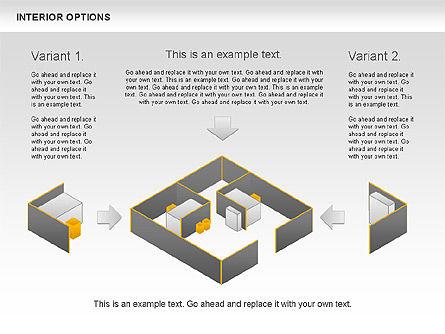 Interior Options Diagram, Slide 6, 01123, Business Models — PoweredTemplate.com
