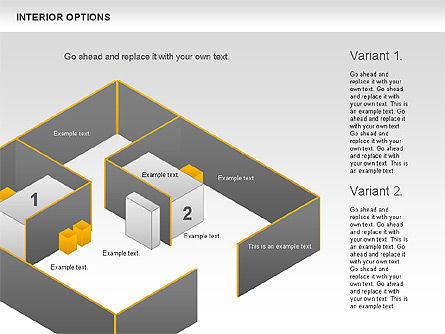 Interior Options Diagram, Slide 7, 01123, Business Models — PoweredTemplate.com