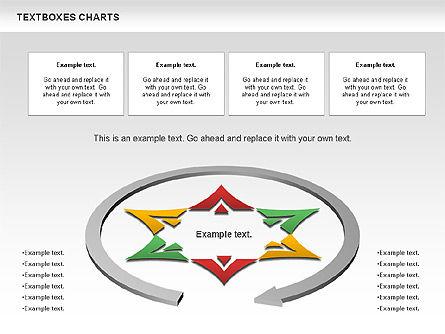 Business Charts Set, Slide 2, 01124, Business Models — PoweredTemplate.com