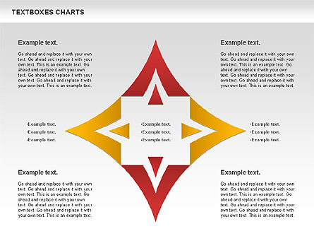 Business Charts Set, Slide 3, 01124, Business Models — PoweredTemplate.com