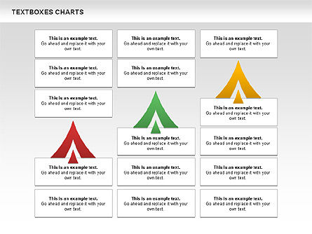Business Charts Set, Slide 7, 01124, Business Models — PoweredTemplate.com