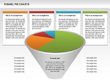 Business Models: Gráfico circular de embudo #01125