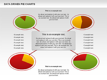 Data Driven Pie Charts Set, Slide 11, 01127, Pie Charts — PoweredTemplate.com