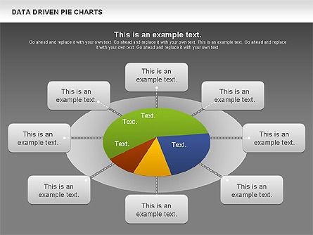 Data Driven Pie Charts Set, Slide 13, 01127, Pie Charts — PoweredTemplate.com