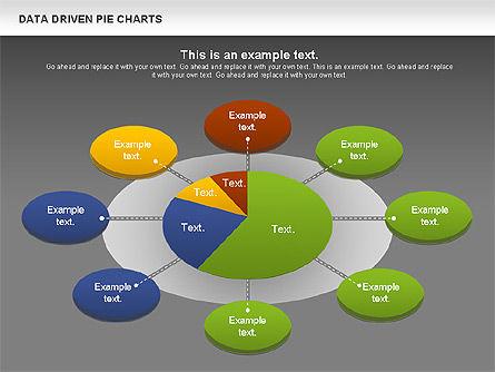Data Driven Pie Charts Set, Slide 15, 01127, Pie Charts — PoweredTemplate.com