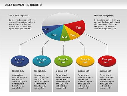 Data Driven Pie Charts Set, Slide 5, 01127, Pie Charts — PoweredTemplate.com