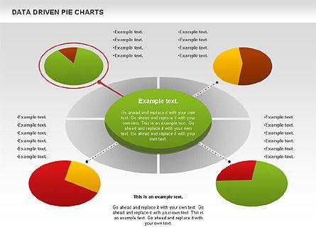Data Driven Pie Charts Set, Slide 7, 01127, Pie Charts — PoweredTemplate.com