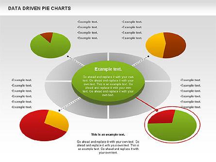 Data Driven Pie Charts Set, Slide 9, 01127, Pie Charts — PoweredTemplate.com