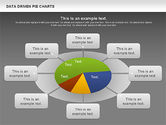 Data Driven Pie Charts Set#13