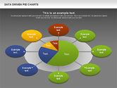 Data Driven Pie Charts Set#15