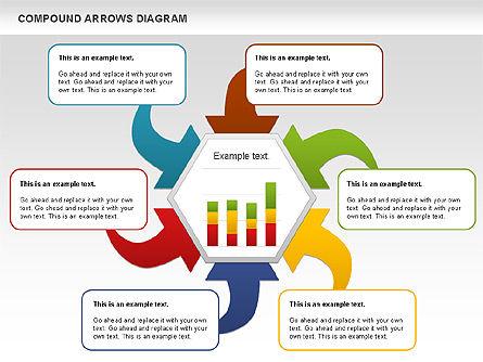 Compound Process Diagram, Slide 10, 01128, Process Diagrams — PoweredTemplate.com