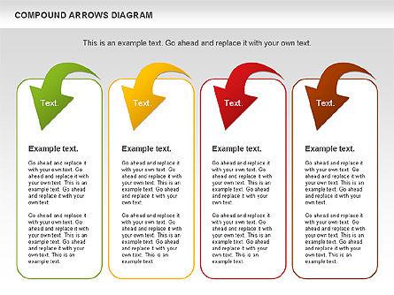 Compound Process Diagram, Slide 11, 01128, Process Diagrams — PoweredTemplate.com
