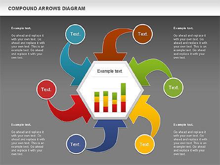 Compound Process Diagram, Slide 12, 01128, Process Diagrams — PoweredTemplate.com