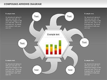 Compound Process Diagram, Slide 13, 01128, Process Diagrams — PoweredTemplate.com