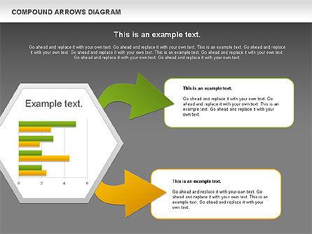 Compound Process Diagram, Slide 14, 01128, Process Diagrams — PoweredTemplate.com