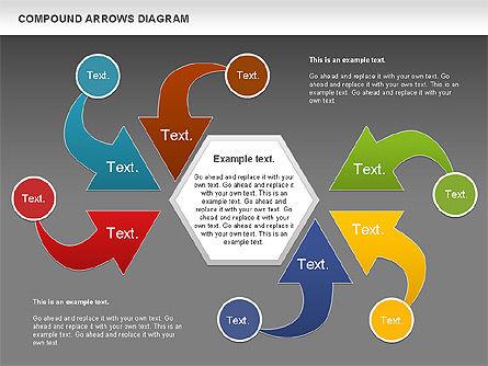 Compound Process Diagram, Slide 15, 01128, Process Diagrams — PoweredTemplate.com