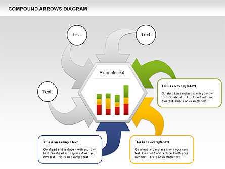 Compound Process Diagram, Slide 7, 01128, Process Diagrams — PoweredTemplate.com