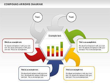 Compound Process Diagram, Slide 8, 01128, Process Diagrams — PoweredTemplate.com