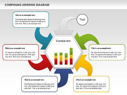 Compound Process Diagram, Slide 9, 01128, Process Diagrams — PoweredTemplate.com