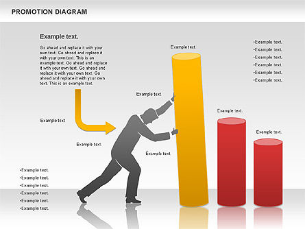Promotion Diagram, Slide 2, 01129, Business Models — PoweredTemplate.com