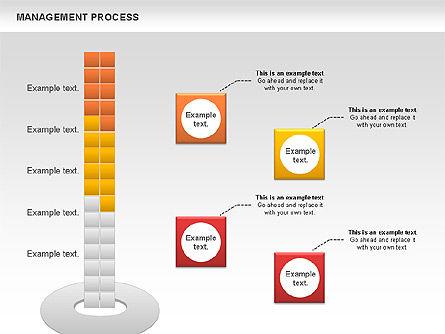 Management Diagram Set, Slide 3, 01130, Business Models — PoweredTemplate.com