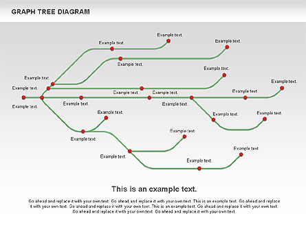 Graph Charts: Graph Tree Diagram #01131