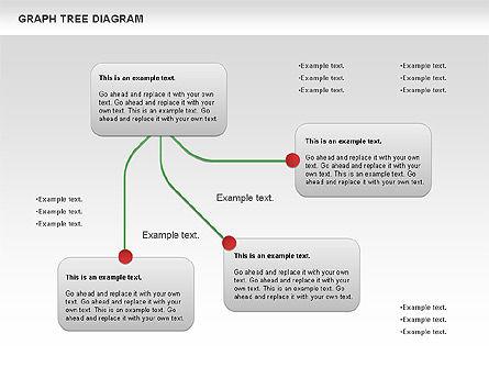 Graph Tree Diagram, Slide 2, 01131, Graph Charts — PoweredTemplate.com