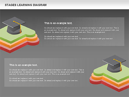 Stages of Learning Diagram, Slide 16, 01136, Stage Diagrams — PoweredTemplate.com