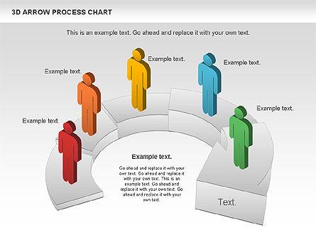 Career Steps Diagram, Slide 10, 01137, Stage Diagrams — PoweredTemplate.com