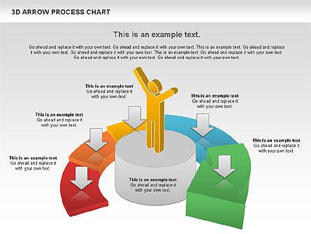 Career Steps Diagram, Slide 11, 01137, Stage Diagrams — PoweredTemplate.com